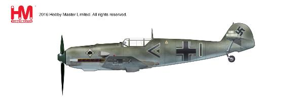 BF 109E-3, Werner Molders, Gruppenkommandeur of III./JG 53,  May 1940 (1:48) - Preorder item, order now for future delivery