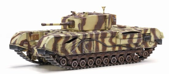 Churchill Mk.III 145th Royal Armoured Corps 21st Tank Brigade Junior Regiment Tunis 1943 (1:72), Dragon Diecast Armor Item Number DRR60431