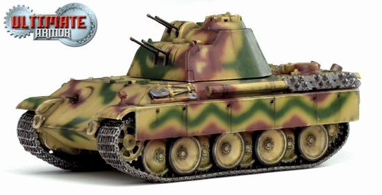 Flakpanzer 341 mit 2cm Flakvierling, Germany 1945 (1:72), Dragon Diecast Armor Item Number DRR60644