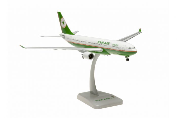 "EVA Air A330-200 ""Old Livery"" B-16301 (1:200) by Hogan Wings Collectible Airliner Models item number: HG0458G"