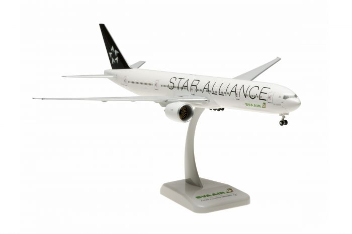 EVA 777-300ER Star Alliance B-16701 (1:200) by Hogan Wings Collectible Airliner Models item number: HG0854G