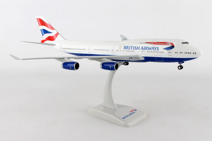 British Airways 747-400 G-BYGG (1:200) by Hogan Wings Collectible Airliner Models item number: HG10185G