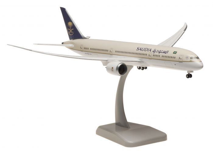Saudia 787-9 (1:200) by Hogan Wings Collectible Airliner Models item number: HG10413G