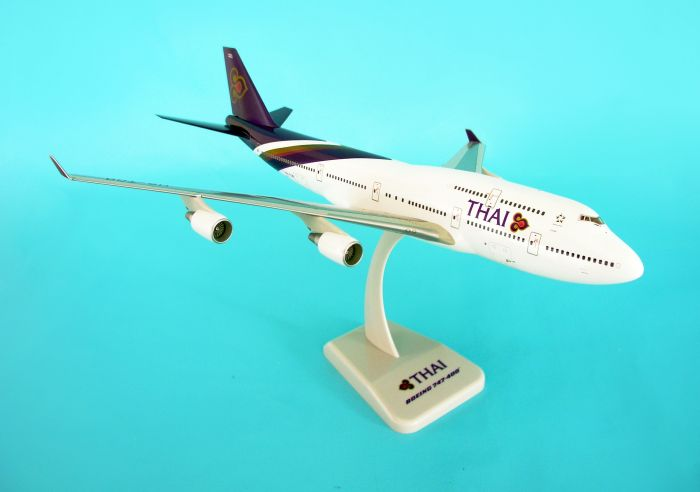 Thai Airways 747-400 HS-TGF (1:200) by Hogan Wings Collectible Airliner Models item number: HG2247G