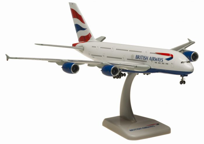 British Airways A380 (1:400) G-XLEA by Hogan Wings Collectible Airliner Models item number: HG40007