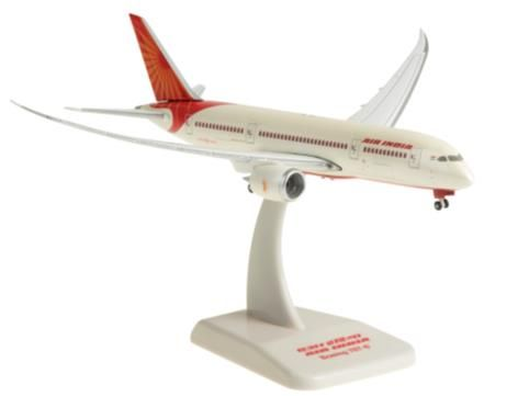 Air India 787-8 (1:400) by Hogan Wings Collectible Airliner Models item number: HG40137