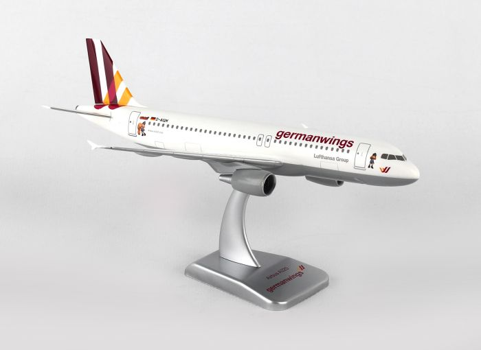 "Germanwings A320 (1:200) ""Wickie No Gear D-AIQE by Hogan Wings Collectible Airliner Models item number: HGGW03"