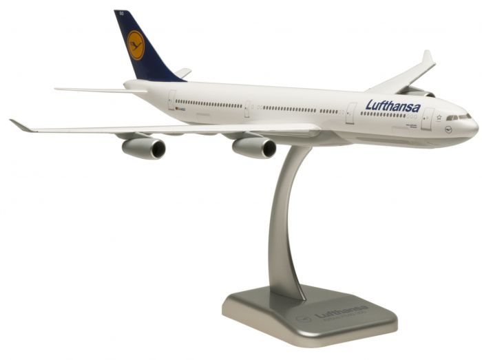 Lufthansa A340-300 D-AIGO Offenbach (1:200) No Gear by Hogan Wings Collectible Airliner Models item number: HGLH15