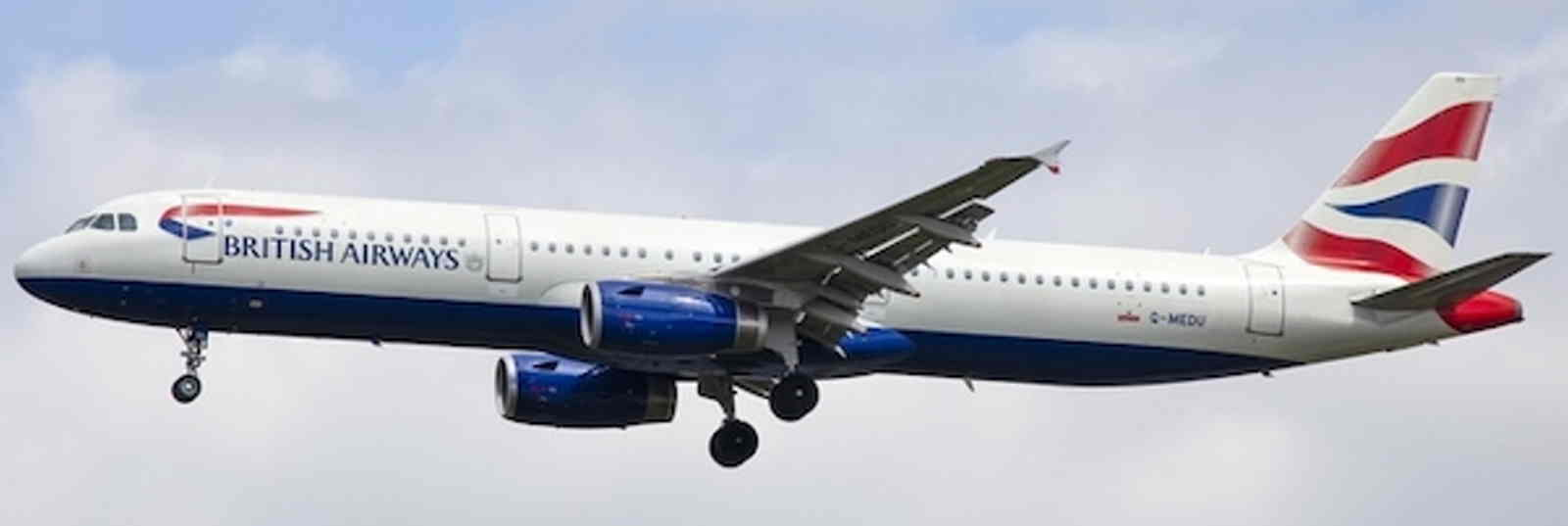 British Airways A321-200 G-MEDU Union Jack Tail ((1:400))