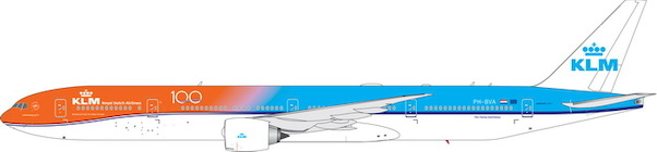 KLM B777-300ER ?Orange Pride, 100th Anniv.? PH-BVA (1:400)