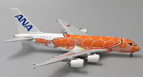 "ANA All Nippon Airways A380-800 ""Flying Honu- Ka La""(1:400) by JC Wings Diecast Airliners Item: EW4388004"