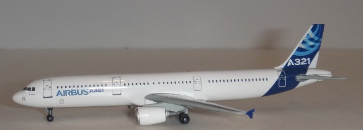 Airbus A321 2011 Corporate Model (1:400)