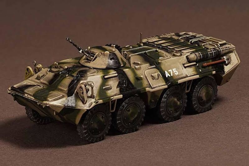 BTR-80 Armored Transporter 98th Airborne Division KFOR (1:72) by War Master Diecast Models SKU WM-TK0051