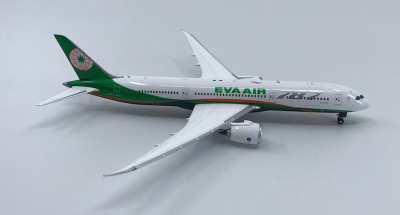 EVA Air B787-9 New Livery B-17881  (1:400) -, Phoenix 1:400 Scale Diecast Aircraft, Item Number PH4EVA1833