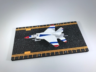 "F-15 Strike Eagle Red, White, Blue (Approx. 5"") by Hot Wings Toy Airplanes Item Number: HW14153"