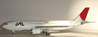JAL Japan Airlines A300B4-622R JA016D (1:200)