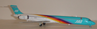 "JAS Japan Air System MD-90-30 ""Rainbow Cruising Scheme #4"" JA001D (1:200)  by Jet X 1:200 Scale Diecast Item Number: JETL034A"