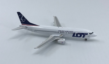 LOT Polish B737-400 SP-LLF (1:400), Phoenix 1:400 Scale Diecast Aircraft, Item Number PH4LOT1238