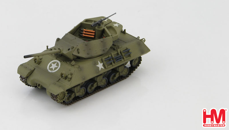 "M10 US Tank Destroyer ""Wolverine"" 803th Tank Destroyer Battalion, England 1944, Hobby Master Diecast Military Armor, Item Number HG3419"