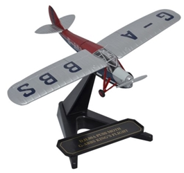 de Havilland DH.80 Puss Moth - Kings Flight, G-ABBS (1:72), Oxford Diecast 1:72 Scale Models Item Number 72PM003