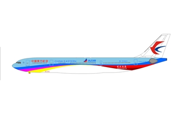 China Eastern A330-300 B-5943 with Ground Service Equipment (1:400) [clone], AeroClassics Models Item Number AC19049-GSE