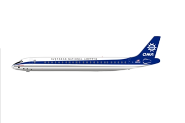 Overseas National Airways (ONA) DC-8-55 N852F (1:400), AeroClassics Models Item Number AC19051