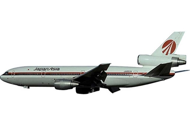 Japan Asia DC-10-40 JA8534 (1:400), AeroClassics Models Item Number AC19245