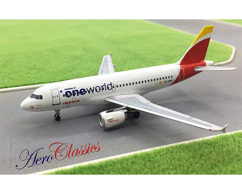 "Iberia A319 ""One World"" EC-KHM (1L400)"