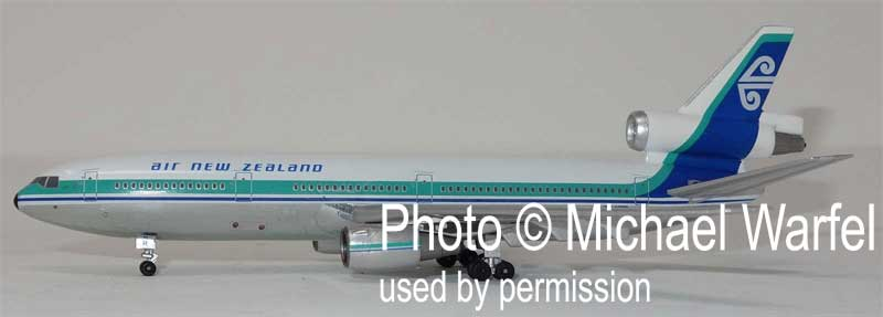 Air New Zealand DC-10 ZK-NZR (1:400), AeroClassics Models, Item Number AC419429