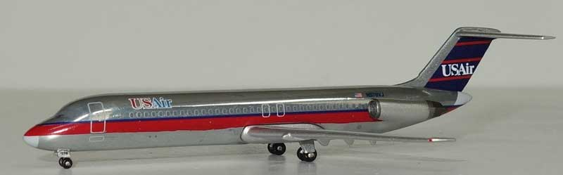 US Air DC-9-30 N978VJ (1:400), AeroClassics Models Item Number AC419320