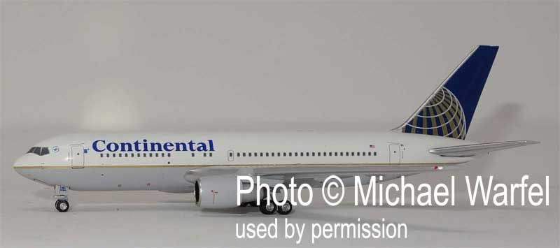 Continental 767-200 N76151 (1:400), AeroClassics Models, Item Number AC419435