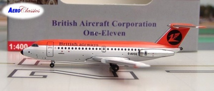 Cambrian (British) BAC-111 G-AVOE (1:400), AeroClassics Models Item Number ACCAN0209A