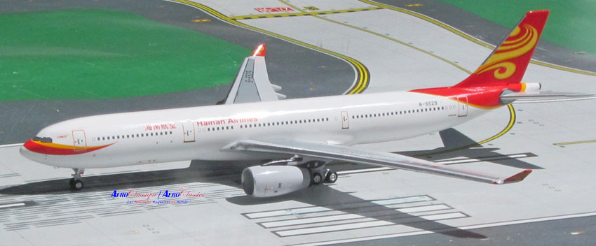 Hainan Airlines A330-300 B-6529 (1:400), AeroClassics Models Item Number ACCHH0516