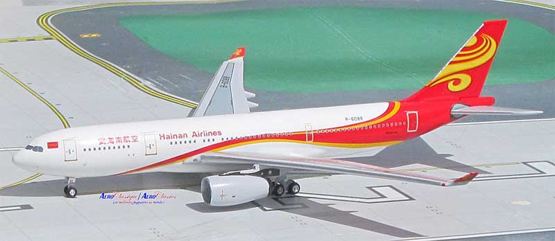 Hainan Airlines A330-200 B-6088 (1:400), AeroClassics Models Item Number ACCHH0916