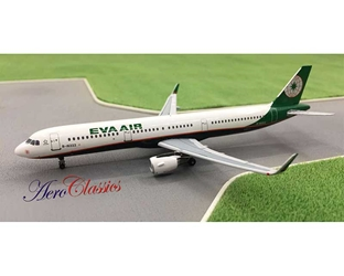 EVA Airways A321WL B-16222 (1:400), AeroClassics Models Item Number ACEVA0317