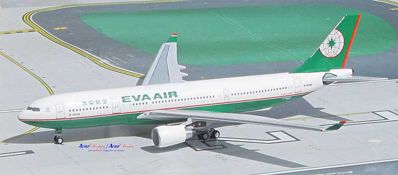 EVA Airways A330-200 B-16308 (1:400), AeroClassics Models Item Number ACEVA0916
