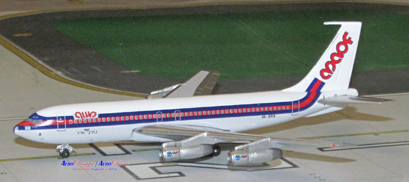 MAOF Airlines B720B 4X-BMA (1:400)