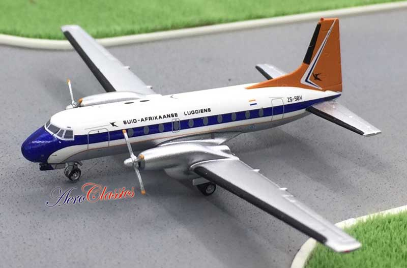 South African HS-748 ZS-SBV (1:400)
