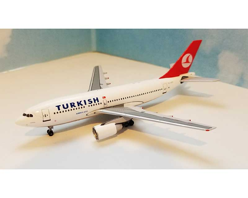 Turkish Airlines A310-200 TC-TJO (1:400), AeroClassics Models Item Number ACTHY0517