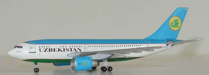 Uzbekistan Airways A310 UK-31003 (1:400), AeroClassics Models Item Number ACUK31003