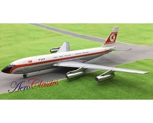 THY Turkish Airlines B707-138B TC-JBN (1:200), Western Models Item Number WETHY0517