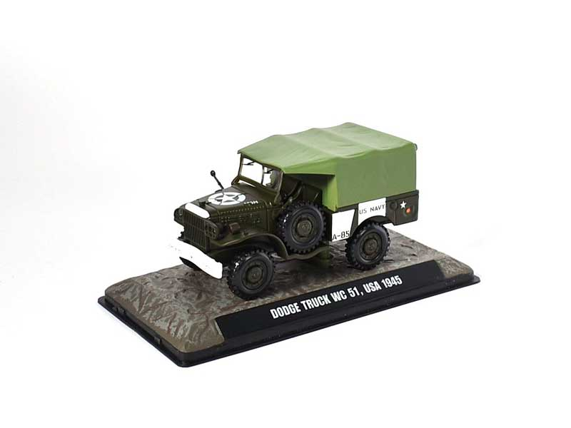 Dodge WC51 U.S. Navy, 1945 (1:43), Atlas Editions, Item Number ATL-7123-106