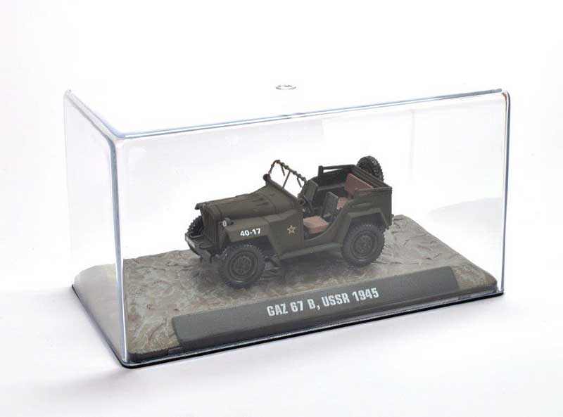 GAZ 67B Soviet Army, 1945 (1:43), Atlas Editions, Item Number ATL-7123-109