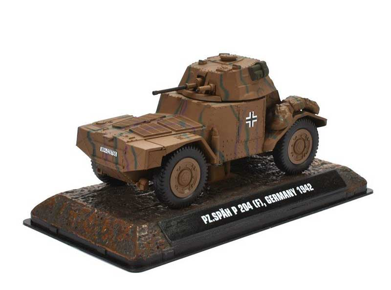 Panzerspaehwagen P 204(f) German Army, 1942 (1:43), Atlas Editions, Item Number ATL-7123-116