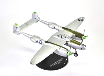 "Lockheed P-38J Lightning, ""Down Beat,"" 40-victory ace Richard Bong, 80th FS ""Headhunters,"" 8th FG, USAAF, 1944 (1:72), Atlas Editions Item Number ATL-7896-003"