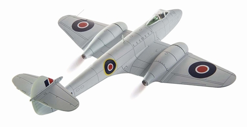 Gloster Meteor F.Mk. 3, RAF #616 Sqn, EE239, Lubeck, Germany, 1945 (1:72), Corgi Diecast Aviation Item Number AA27402