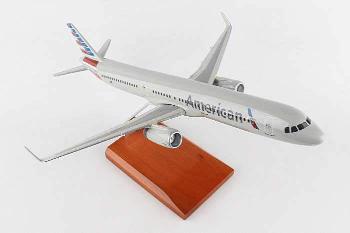 American A321 (1:100), Executive Series Display Models, G51100