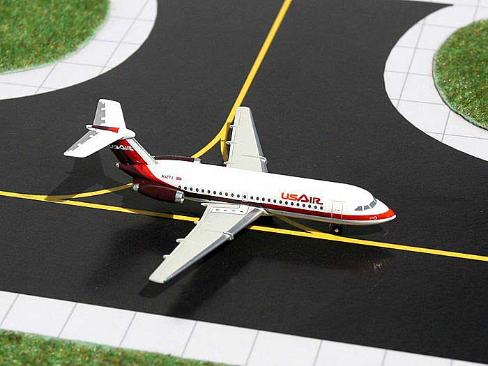 US Air BAC 111-200 (1:400), GeminiJets 400 Diecast Airliners, Item Number GJUSA204