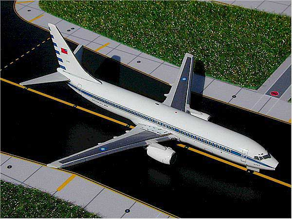 Taiwan Air Force 737-800 (1:400), GeminiJets 400 Diecast Airliners, Item Number GJTAF234