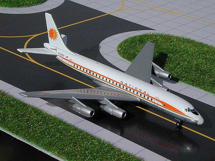 Inflight IFDC8630114P Austrian Airlines DC-8-63 OE-IBO Diecast Jet 1//200 Model